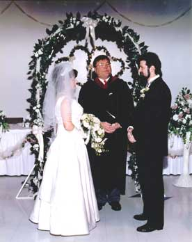 Darlene Costain & Paul Landry - April 15th 2000 - Wedgewood Hall